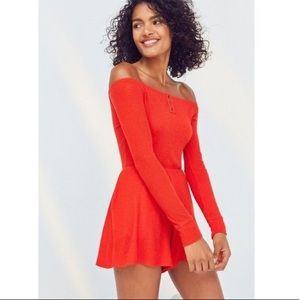 UO Out From Under Henderson Ribbed Romper